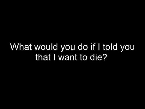 Depressing Quote On Tumblr: Sad Depressing Suicide Quotes. QuotesGram