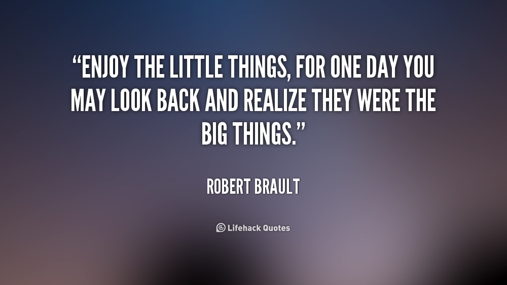 Quotes about enjoying the little things quotesgram for Quotes on enjoying the day