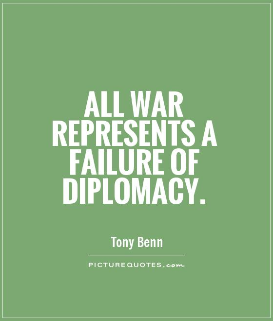 Inspirational Quotes About Failure: Diplomacy Quotes. QuotesGram