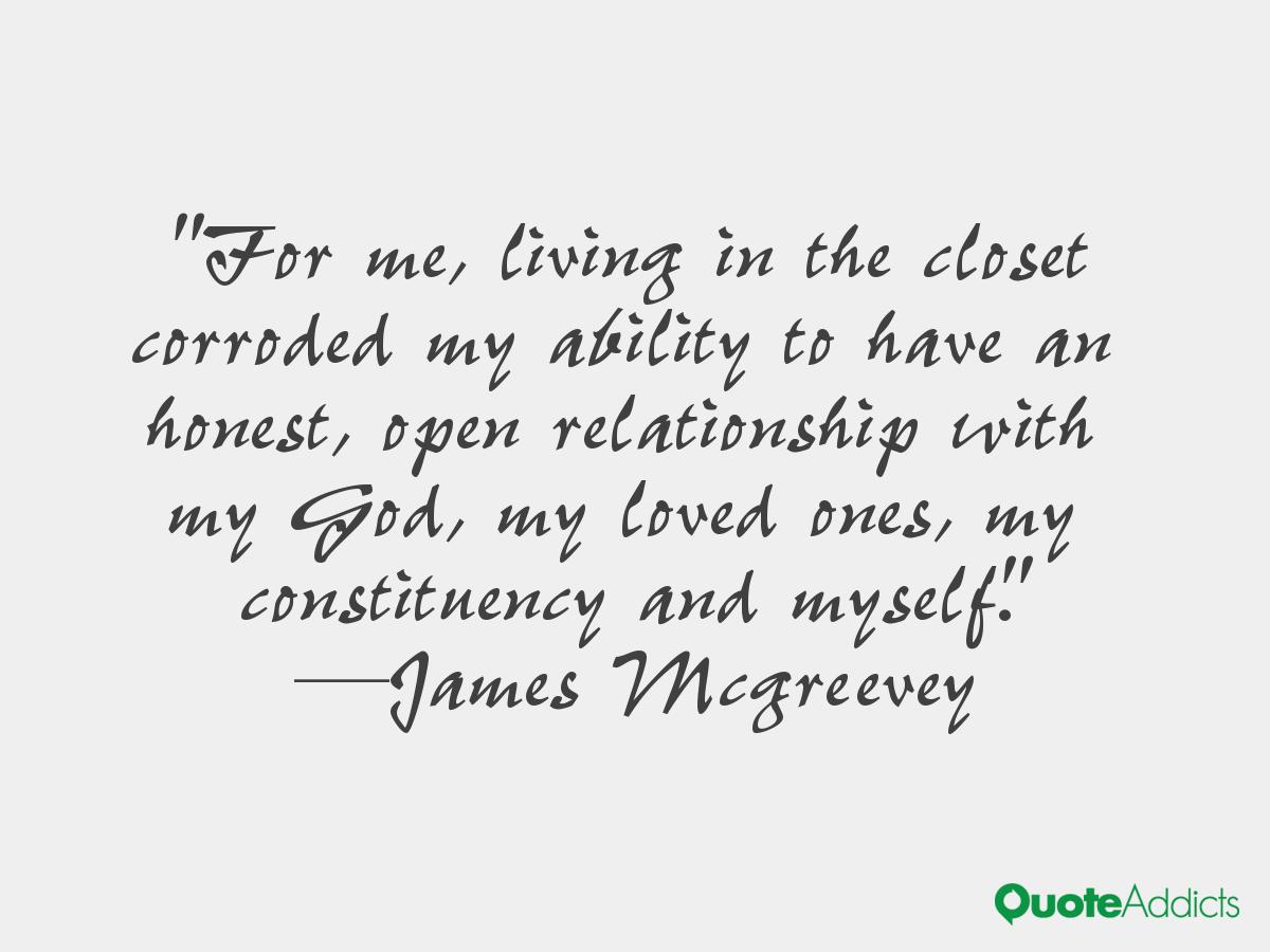 Ambivalent Quotes Quotesgram: James McGreevey Quotes. QuotesGram