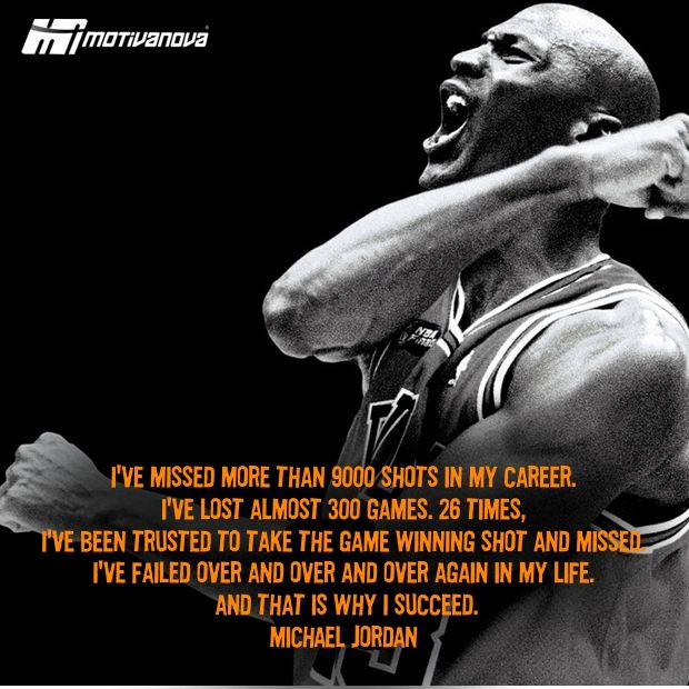 Michael Jordan Motivational Quotes About Life: Motivational Quotes From Michael Jordan. QuotesGram