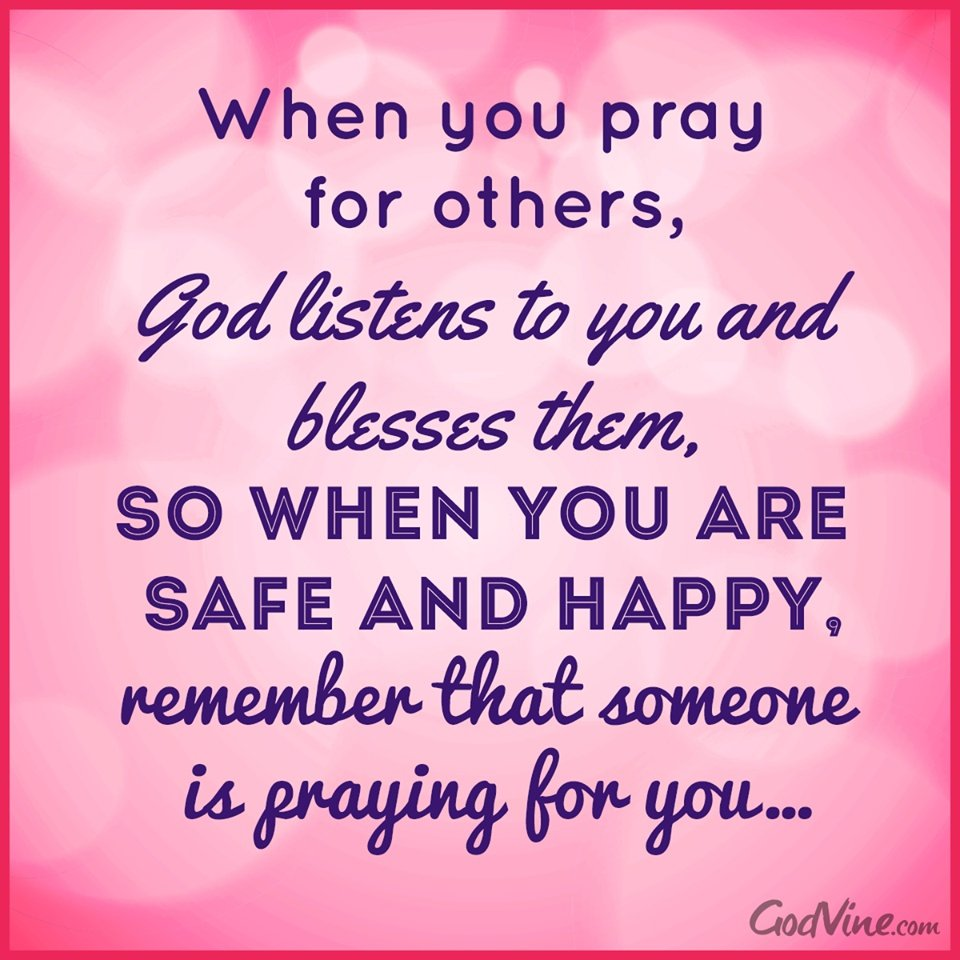 Thinking And Praying For You Quotes Quotesgram