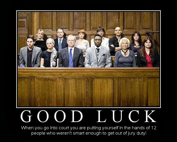 Jury Duty Funny Quotes Quotesgram
