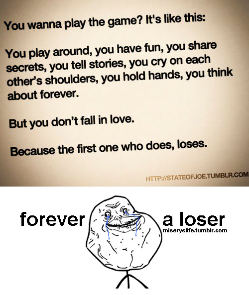 Short Sweet I Love You Quotes: Forever Alone Sad Quotes. QuotesGram