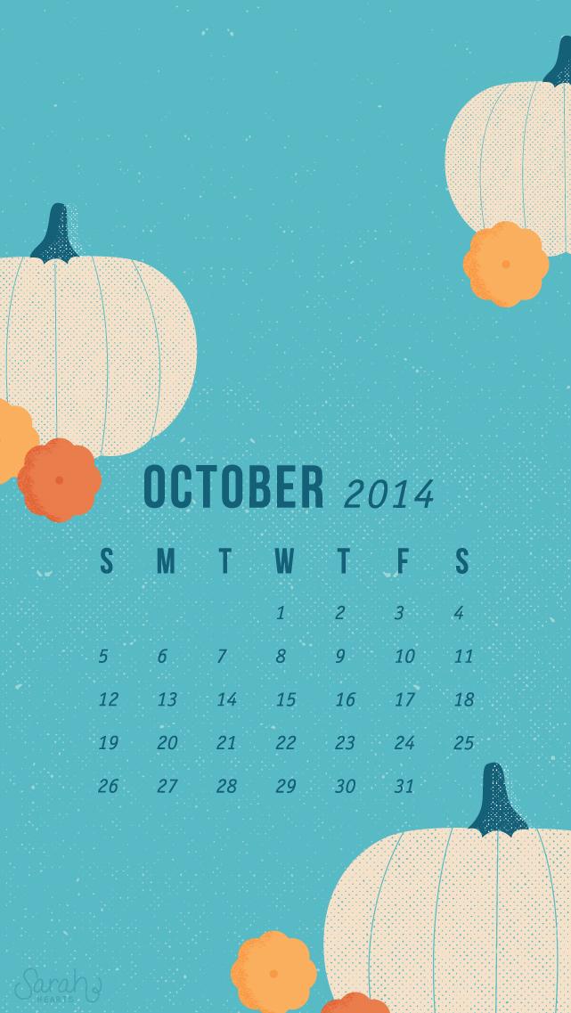 October Calendar Wallpaper Iphone : Cute quotes for a calendar quotesgram
