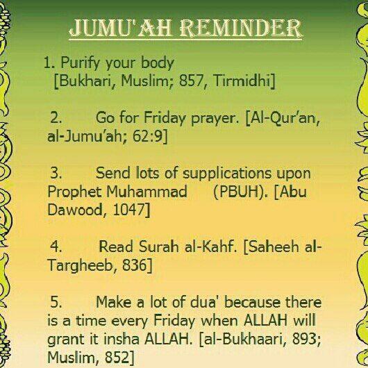 Islamic Quotes Its Friday. QuotesGram