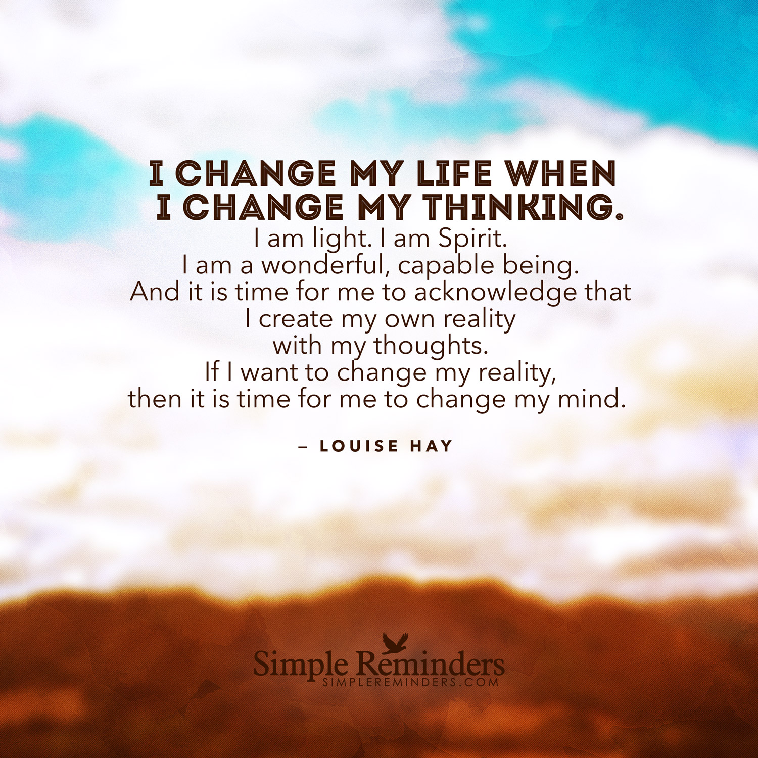 the influence of my classmates death on the positive changes in my life Are you waiting for life events to turn out the way you want so that you can feel more positive about your life people in my life changes to feel better.