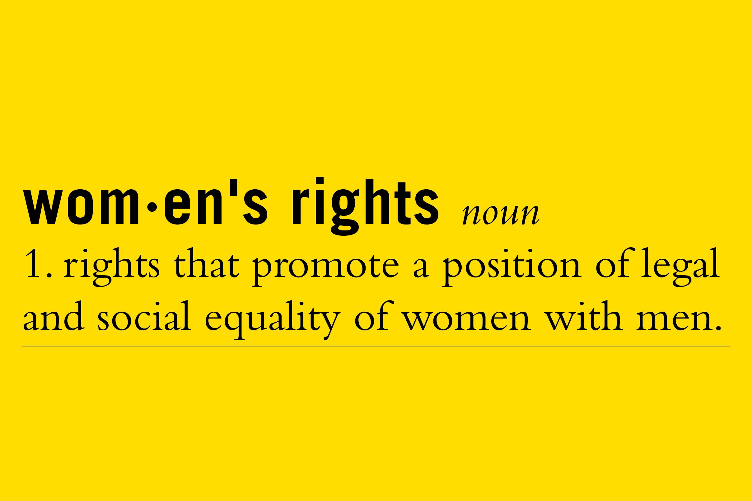 List of women's rights activists