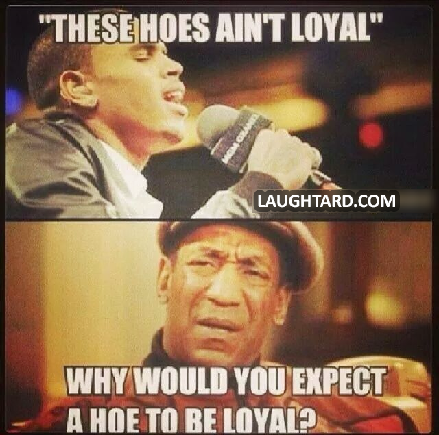 these hoes aint loyal Hoes ain't loyal lyrics: man, these hoes ain't loyal / they ain't nothing to invest in / she gon' tell you she love you, dawg / then go and fuck your best friend.