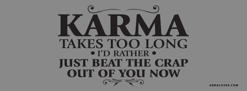 Best Karma Quotes On Facebook. QuotesGram