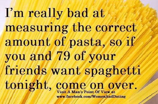 Funny Pasta Quotes. QuotesGram