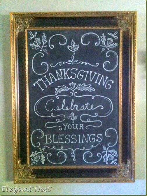 November Chalkboard Calendar Ideas : Thanksgiving chalkboard quotes quotesgram