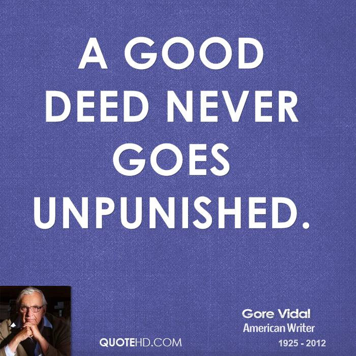 Quotes About Doing Good Deeds Quotesgram