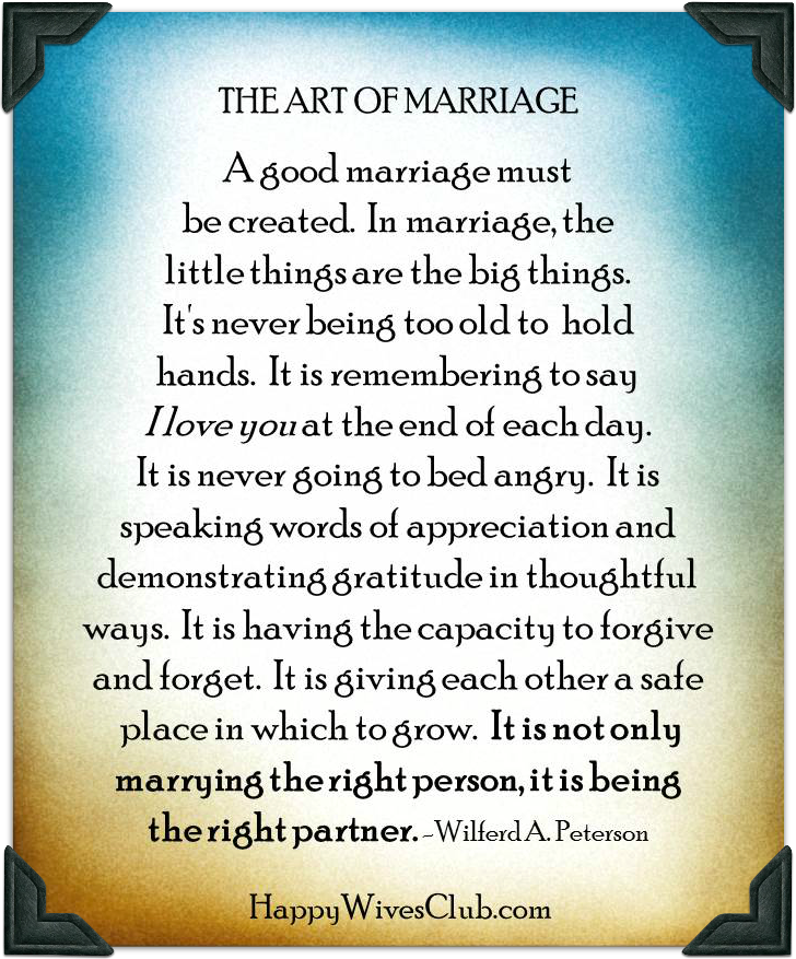 Great Marriage Partnership Quotes. QuotesGram