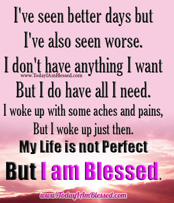 I Am Blessed Quotes Blessed Life Quotes. Q...