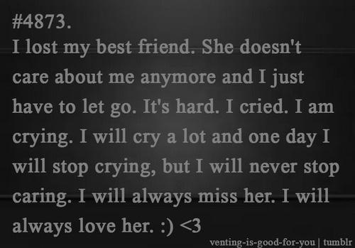 Lost Best Friend Quotes. QuotesGram