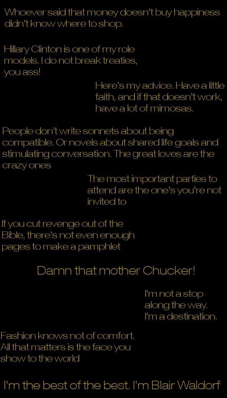 blair waldorf love quotes - photo #17