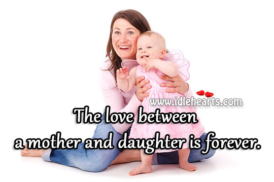 relationship between mother and daughter