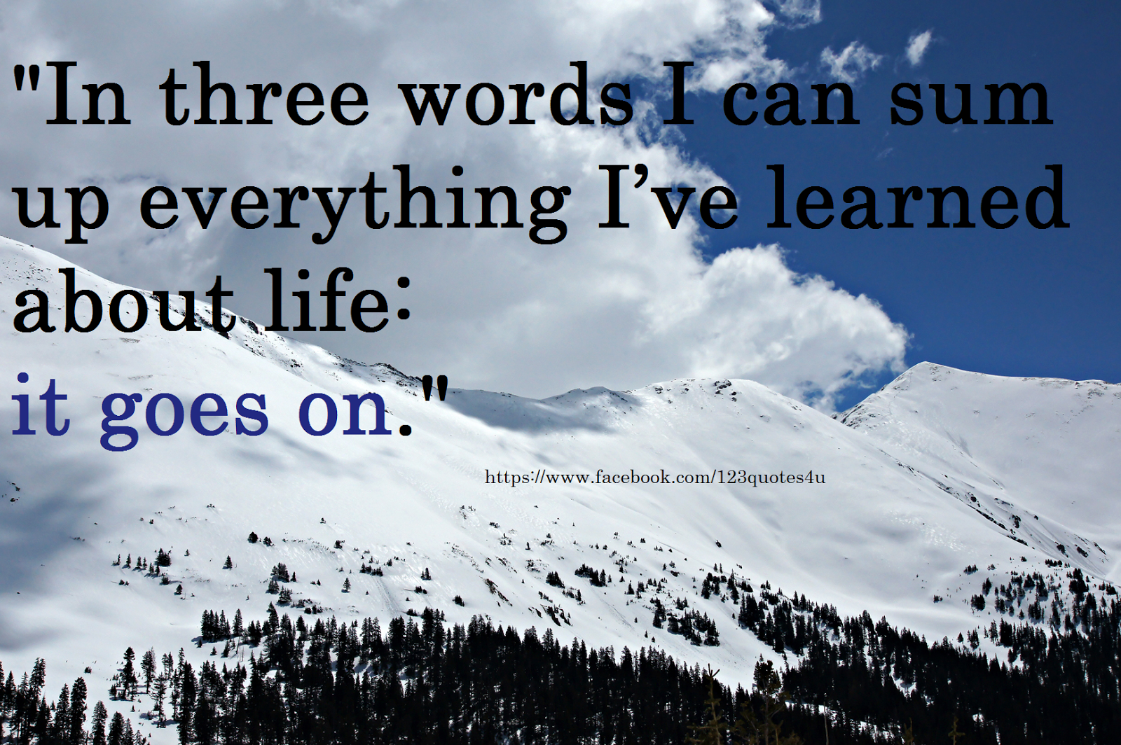 3 Quotation: 3 Word Quotes About Life. QuotesGram