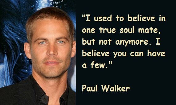 Paul Walker Quotes. QuotesGram