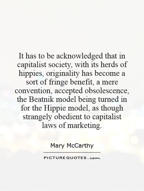 Capitalist Society Quotes Quotesgram