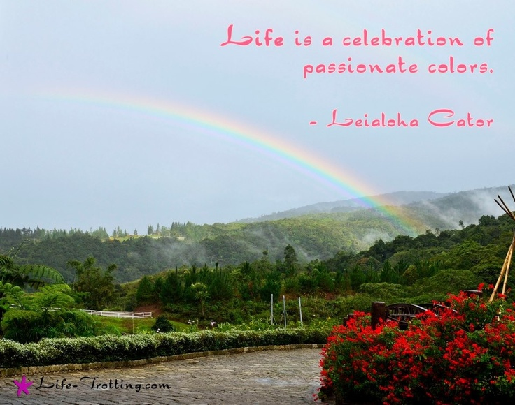 Inspirational Quotes About The Cruel World Quotesgram: Inspirational Quotes About Rainbows. QuotesGram