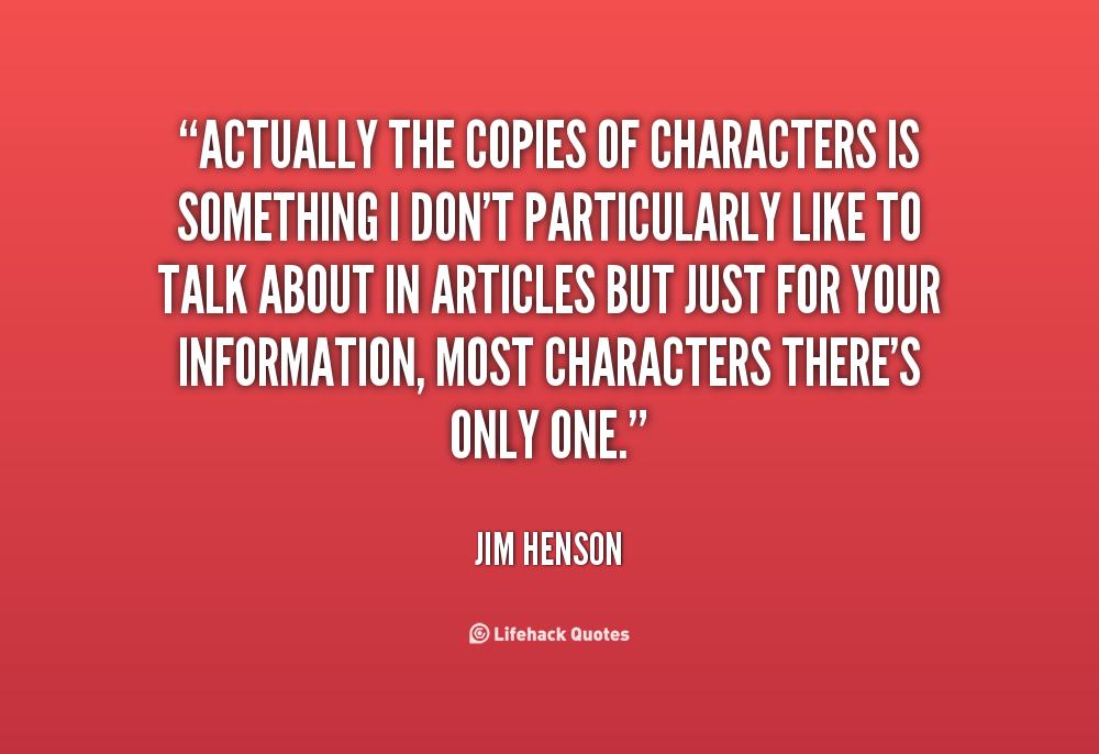 Jim Henson Quotes Life. QuotesGram