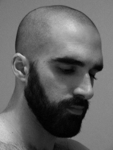 Black men bald sexy 30 Hot