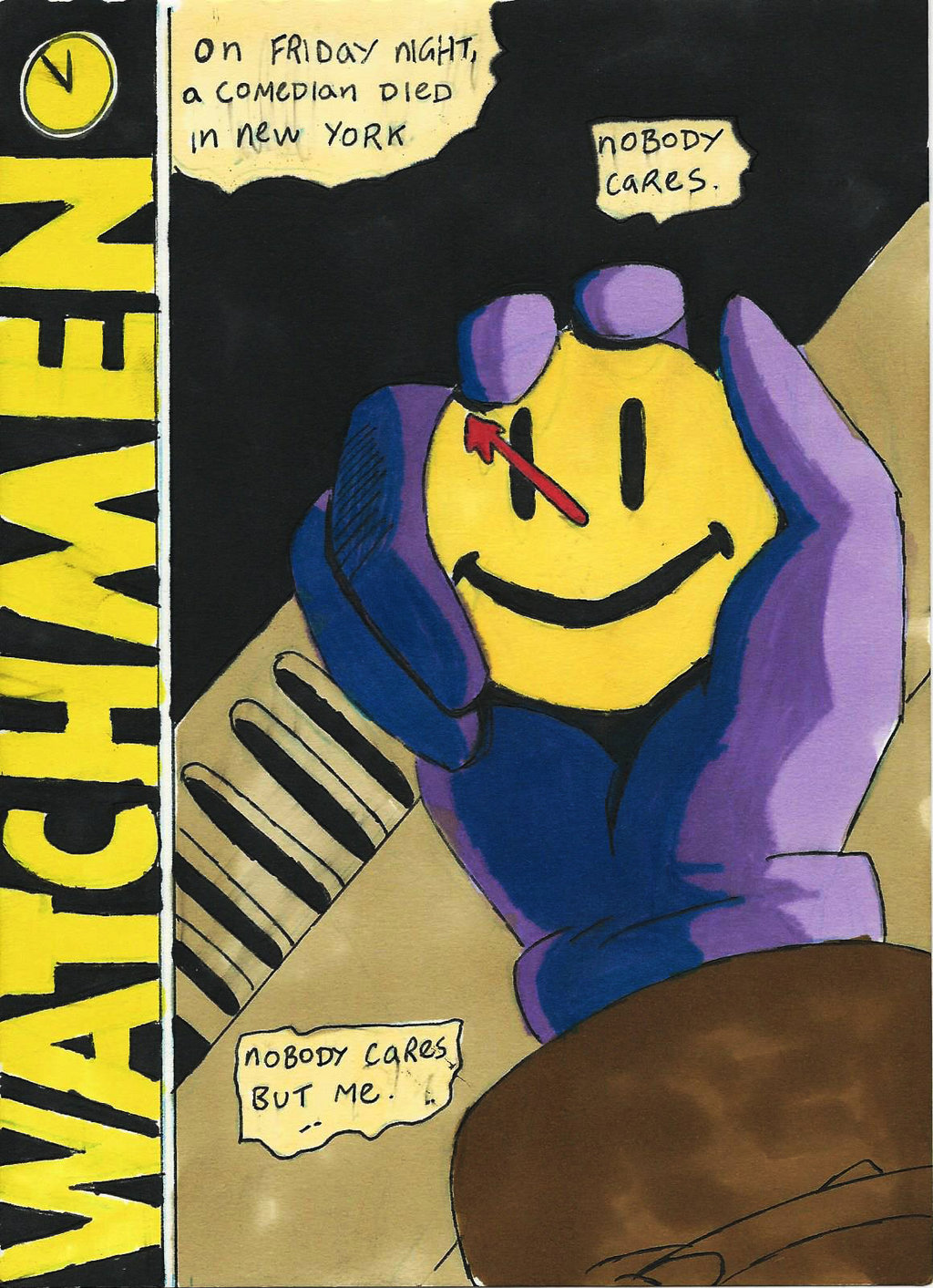 watchmen and book Watchmen r | 2h 42min  played rorschach, 45 in the book the rorschach newscast gives his age as 35, but this is a character error, as all other chronology in the film indicates that.