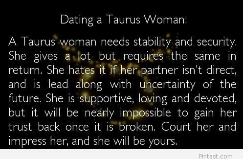 from Donovan taurus dating traits