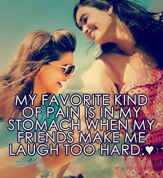 Friends Make You Laugh Quotes. QuotesGram
