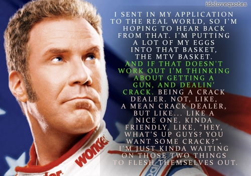 talladega nights quotes quotesgram