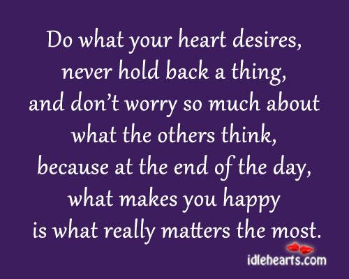 Hearts Desire Quotes. QuotesGram
