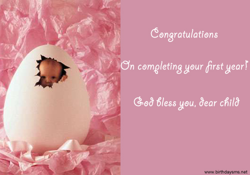 Remarkable Baby Birthday Wishes Quotes Quotesgram Personalised Birthday Cards Rectzonderlifede