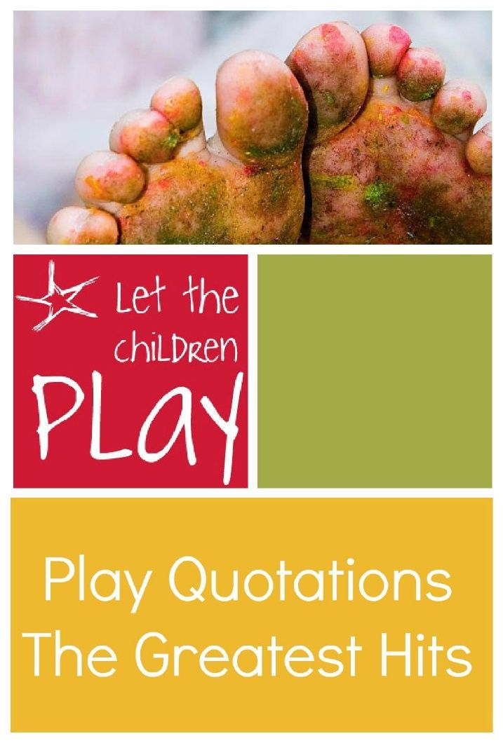 what is play in early childhood Despite the fact that early childhood is prime time for physical play, new research suggests modern children are losing the desire to play why is this.