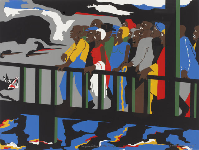 Moma to reunite all 60 of the paintings that comprise jacob lawrence 2019s epic series the great migration