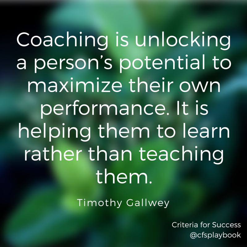 Inspiring Coaching Quotes: Quotes On Coaching For Teachers. QuotesGram