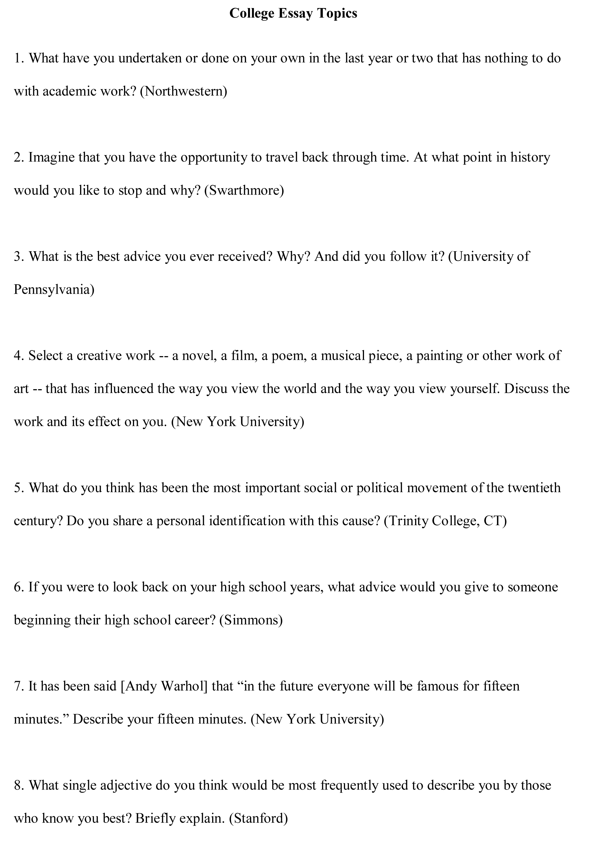 college essay using quotes Check out our persuasive essay samples to get  why you should abandon your android device and start using an  college is mostly a way to get the.
