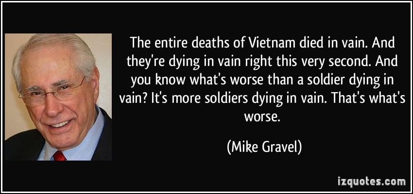Mike Gravel Quotes