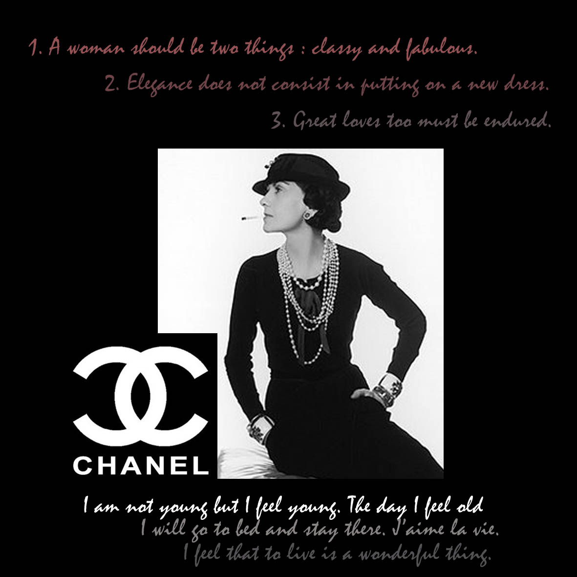Quotes For Cover Photo: Coco Chanel Quotes Facebook Covers. QuotesGram