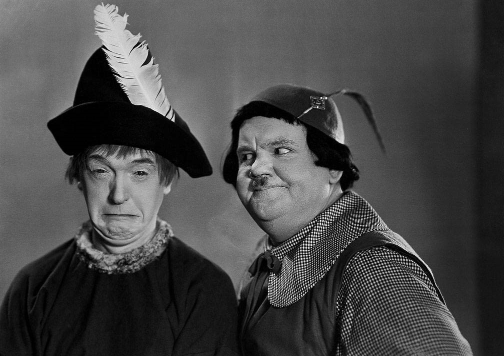 """laurel and hardy in the 21st In 1914, oliver """"babe"""" hardy, later of the comedic film duo laurel & hardy, began  his motion-picture career in jacksonville silent-film stars such as rudolph."""