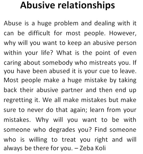 quotes about relationship abuse psa