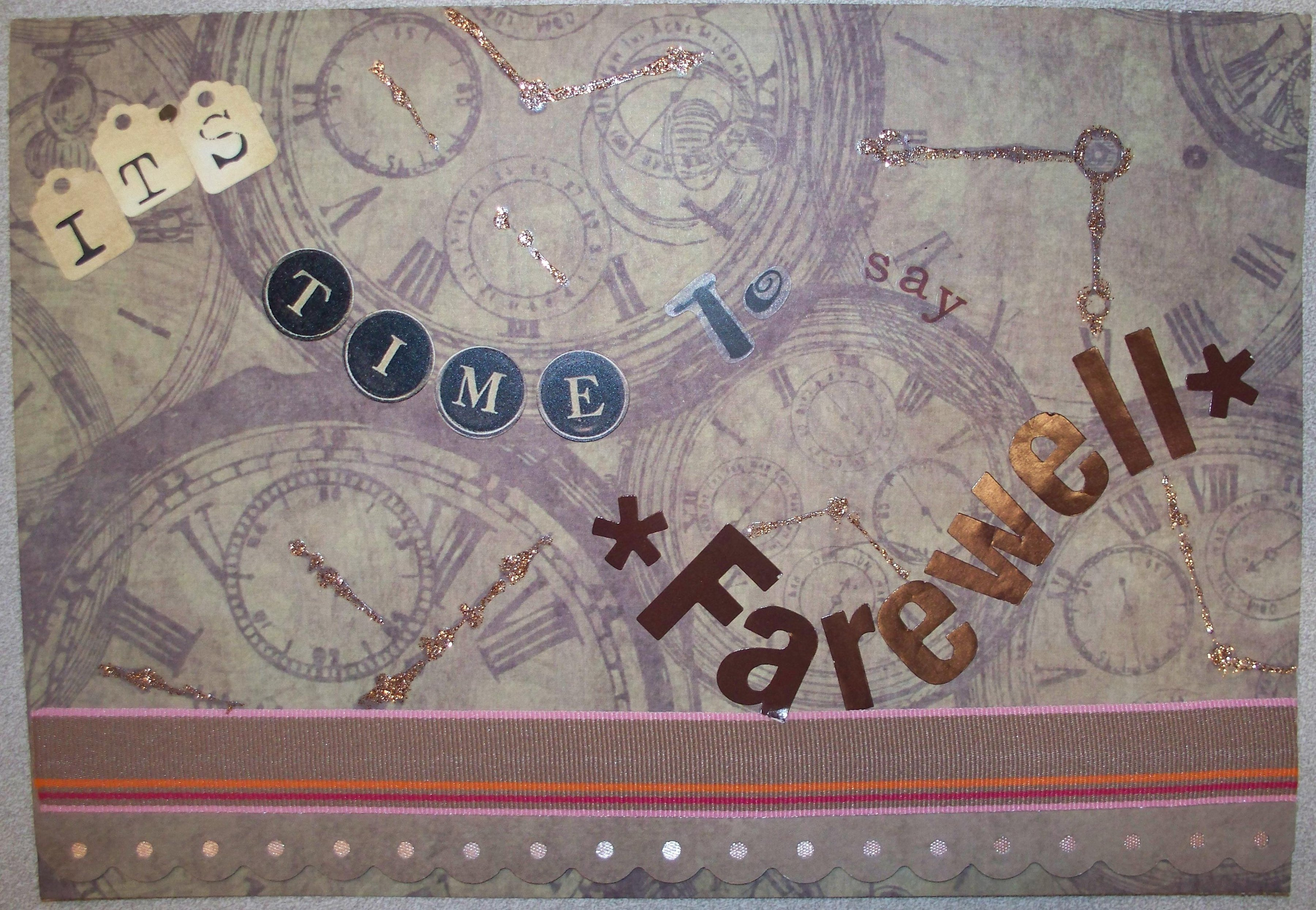Scrapbook ideas goodbye - Arewell Co Worker Goodbye Quotes