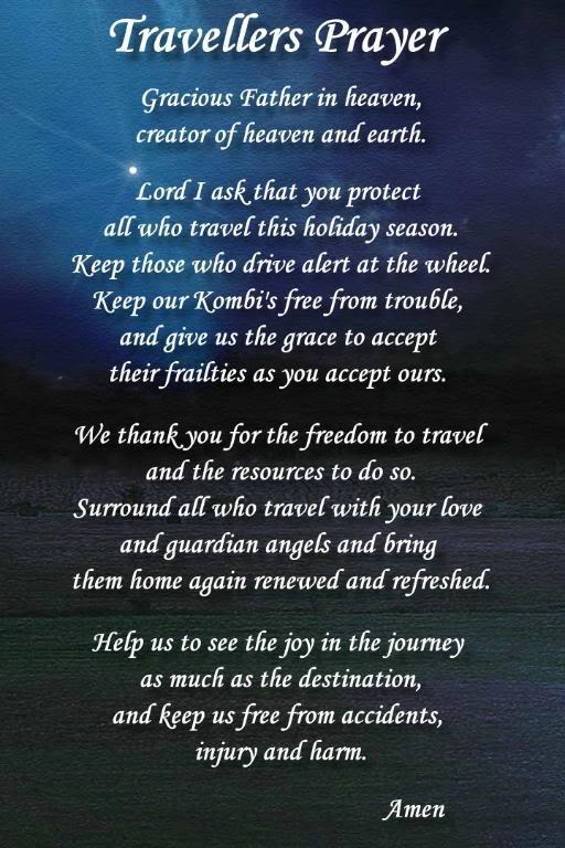 Prayer For Safe Travel For My Husband