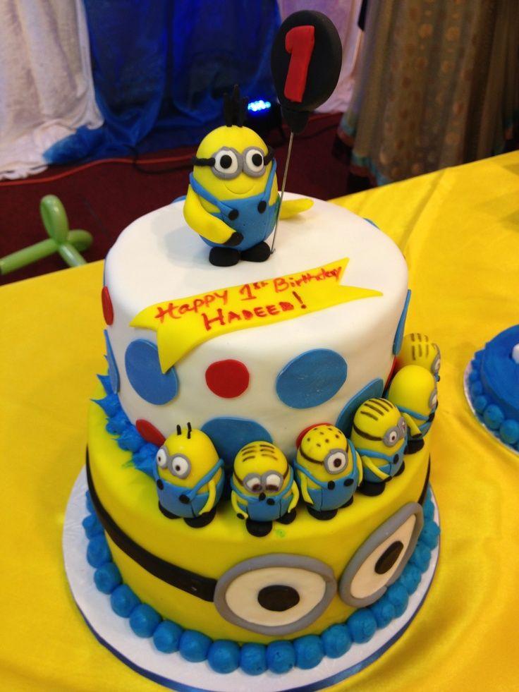 Superb Quotes Funny Minion Cake Quotesgram Funny Birthday Cards Online Elaedamsfinfo