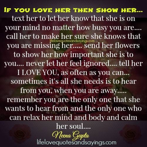 Tell Her You Love Her Quotes. QuotesGram