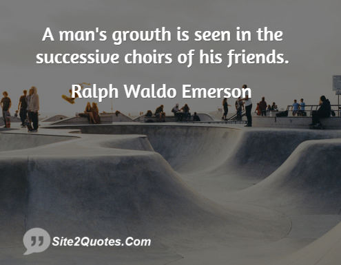 ralph waldo emerson essay friendship