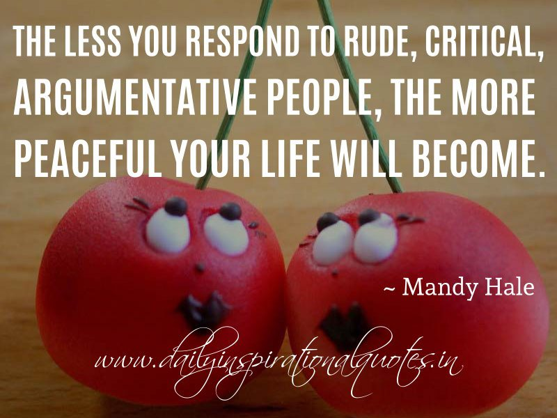 Famous Quotes About Rude People. QuotesGram