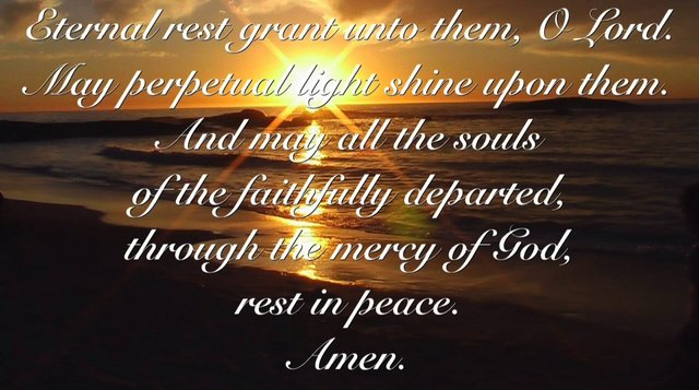 Grant them eternal rest