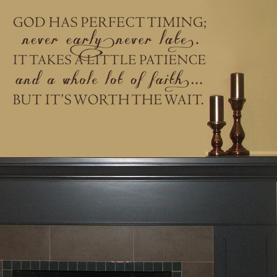 Our Timing Is Perfect Quotes. QuotesGram